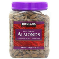 Signature'S Roasted Almonds Jar, Dry, 2.5Lb