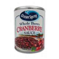 - Ocean Spray Whole Berry Cranberry Sauce 14 oz (Pack of 12)