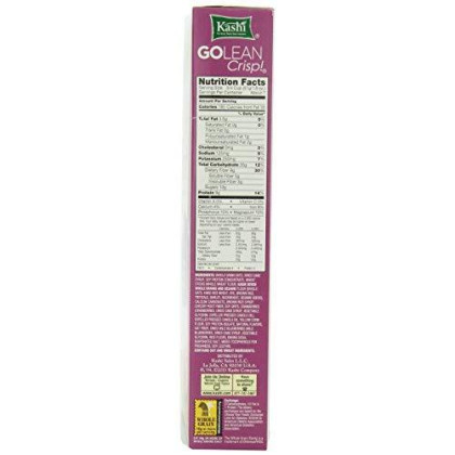 Kashi Golean Crisp Toasted Berry Crumble, 14 Ounce (Pack of 12)