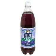 Polar Grape Soda, Diet, Grape 1 Liter - 6 Pack