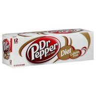 Dr. Pepper Soda, Diet caffene Free Fridge Pack -2 Packs