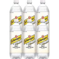 Schweppes Tonic Diet Water, 33.8 Fl Oz 6 Ct