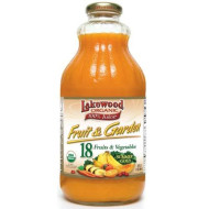 Lakewood Organic Fruit Garden Summer Gold, 32 Ounce (Pack Of 6)