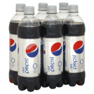 Pepsi Cola, Diet 24 Fl Oz, 6 Pack