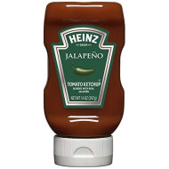 Heinz Tomato Ketchup, Jalapeno, 14 Ounce (Pack of 6)