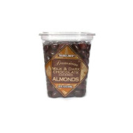 Trader Joe'S Premium Milk And Dark Chocolate Almonds 1 Lbs.