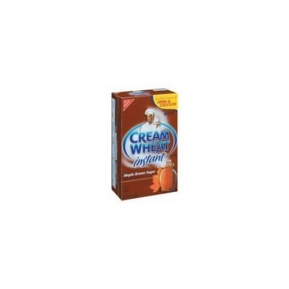 Cream Of Wheat, Maple Brown Sugar, Instant Hot Cereal, 12.5Oz Box (Pack Of 6)