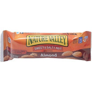 General Mills - Nature Valley Granola Bars, Sweet amp;amp; Salty Nut Almond Cereal, 1.2oz Bar, 16/Box - Sold As 1 Box - Nutritional.