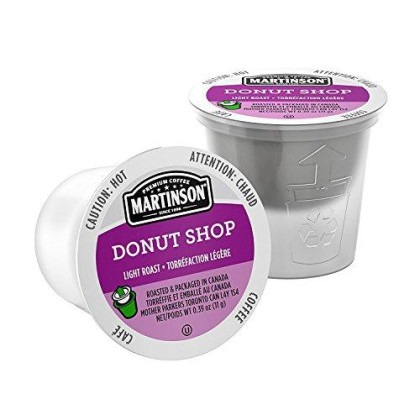 Martinson Single Serve Coffee cpsules, Donut Shop, 24 Count