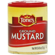 Tone'S Mini'S Mustard, Ground, 0.45 Ounce (Pack Of 6)