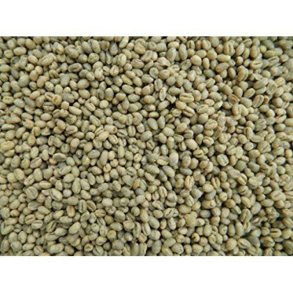 Tanzanian Mondul Estate Northern Peaberry Coffee Beans (5 Pounds Whole Beans, Unroasted Green Beans)