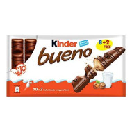 Kinder Bueno 43g bar, 10 Count
