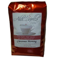 Ahh..Cupella Premium Gourmet Christmas Morning Flavored Ground Coffee, 16Oz Bag