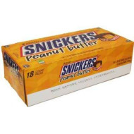 Snickers Peanut Butter Squared 18Ct