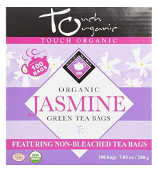 Touch Organic China Organic Tea Cube, Jasmine Green Tea