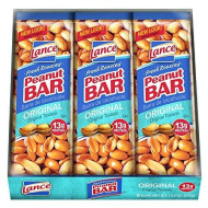 Lance Peanut Individually Wrapped Bars - Pack Of 24