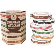 Taza Chocolate | Mexicano Disc | Classic Collection Variety Pack| Stone Ground | Certified Organic | Non-GMO | 2.7 Ounce (6 Count)