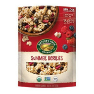 Nature'S Path Organic Gluten Free Granola Cereal, Summer Berries, 11 Ounce
