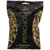 Wonderful Pistachios Roasted Salted 8 Ounce Resealable Bag