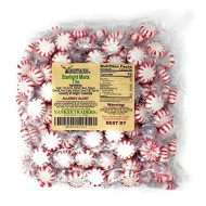 Yankee Traders Brand Peppermint Striped Balls - 2 Lbs