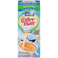 Sf French Vanilla Creamer 375 Oz 50 Creamers Box [Nes91757]
