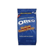 Nabisco Oreo, Medium Cookie Pieces, 2.5 Lbs. Resealable Bag (Individual)
