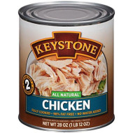 Keystone Meats All Natural Canned Chicken, 28 Ounce