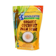 Wholesome Sweeteners Organic Coconut Palm Sugar, 16 Ounce - 6 per case.