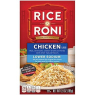 Quaker Rice-A-Roni chicken flavor,net weight 6.9 ounce, pack of 12