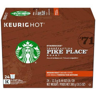 Starbucks Pike Place Roast, K-Cup For Keurig brevers, 24 Count