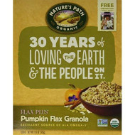 Natures Path Granola Flax Plus W Pmpkn