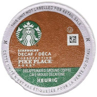 Starbucks Decaf Pike Place Roast, K-Cup For Keurig brevers, 24 Count