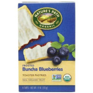 Nature'S Path Organic Frosted Toaster Pastries, Buncha Blueberries, 6-Count Boxes (Pack Of 12) By Nature'S Path