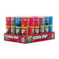 Topps Push Pop Assorted Candy, 12 Ounce