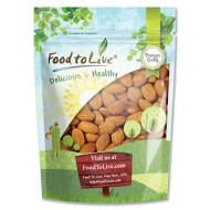 Raw Almonds Bulk By Food To Live (Whole, No Shell, Unsalted, Kosher)