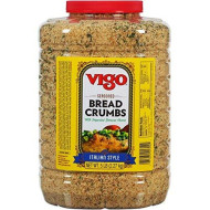 Vigo Italian Style Seasoned Bread Crumbs, 5 Pound