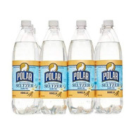 Polar Seltzer 33.8 Fl. Oz, (Pack Of 12) (Vanilla)