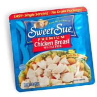 Sweet Sue Chicken Breast 3oz Single Serve Pouch (Pack of 12)