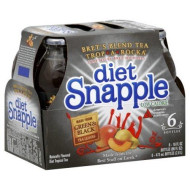 Snapple Tea 6 -16 Fl Oz, (Pack of 2) (Trop-A-Rocka Diet)