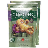 The Ginger People Original Ginger Chews, 3-Ounce Bags (Pack Of 2)