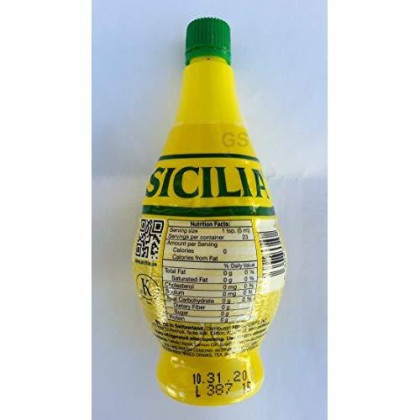 Sicilia Lemon Juice, 4 Fl Oz (Pack of 6)