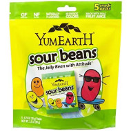 YUMMYEARTH JELLY BEAN SOUR SNKPK