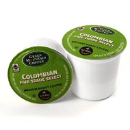 Green Mountain Columbian Fair Trade Select Coffee Keurig K-Cups, 36 Count