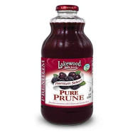 Lakewood Premium Pure Prune, 32 Ounce (Pack Of 6)