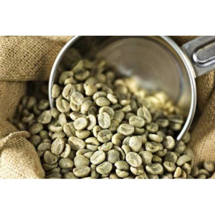 Uganda Aa West Nile - Erussi Rfa Certified 100% Arabica Unroasted Coffee Beans (Unroasted Green Beans, 5 Pounds Whole Beans)