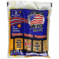 Great Western Premium America Dual Pack Popcorn, 10.6 Ounce (Pack of 24)