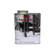 Vermont Made Maple Syrp (Grade A Fancy, Tin Quart)