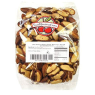 Raw Shelled Brazil Nuts, 2.5 Lbs Bag By Green Bulk