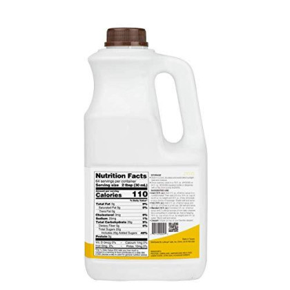 Tea Zone 64 Fl.Oz Lemon Syrup