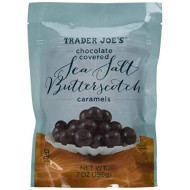 Trader Joe'S Chocolate Covered Sea Salt Butterscotch Caramels (Pack Of 3)